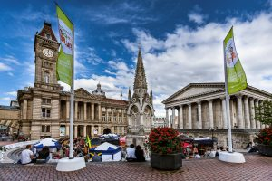 Food Fair 2013 - a view on Chamberlain Square