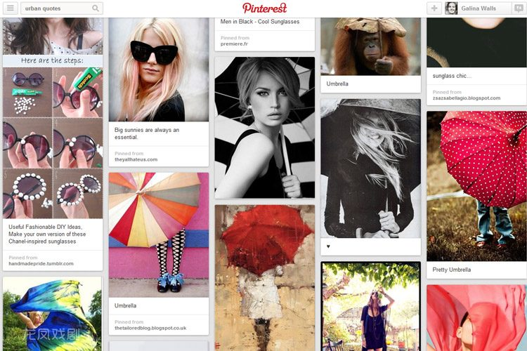 'Urban Props and Accessories' Pinterest board to inspire you