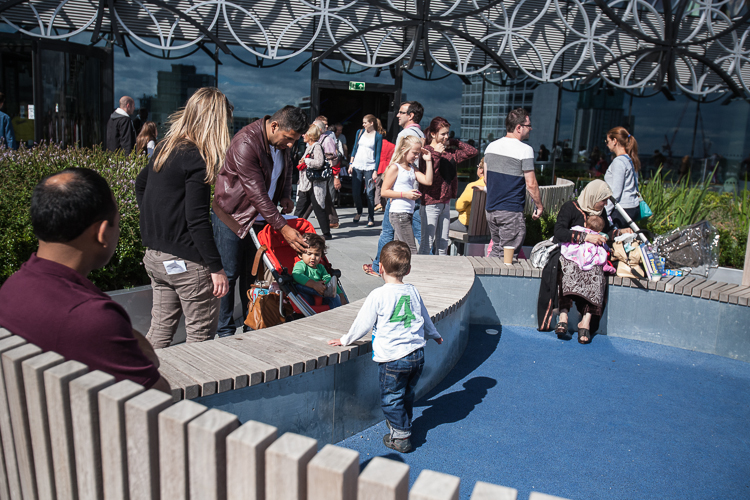 Enclosures to keep the toddlers safe