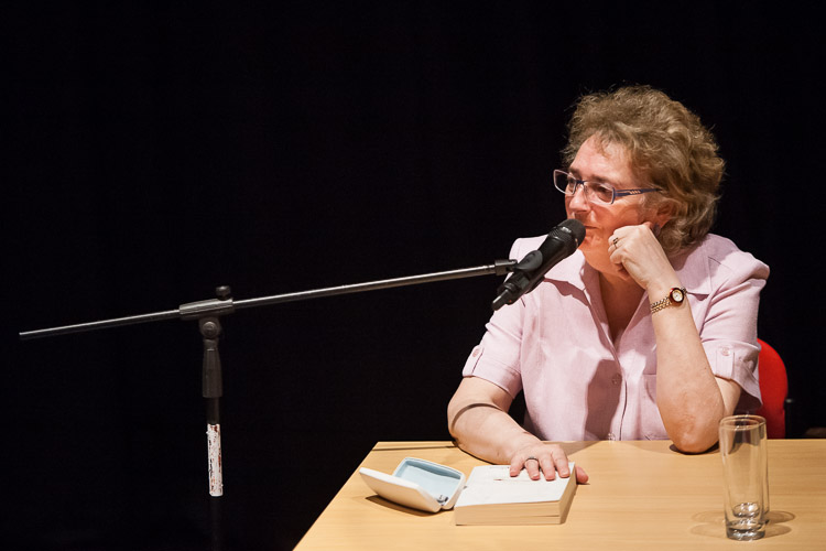 Lindsey Davis answers her readers' questions at the LIbrary of Birmingham