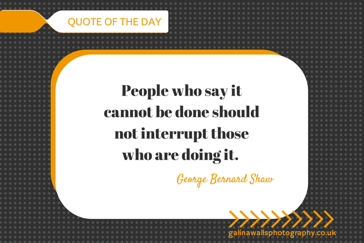 Quotes of the day from George Bernard Shaw