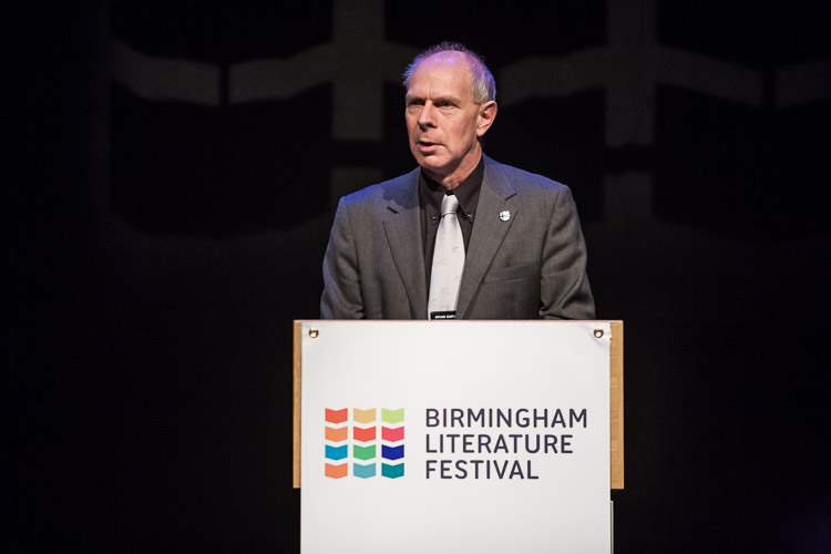 Birmingham Literature Festival launch and naming new Poet Laureate