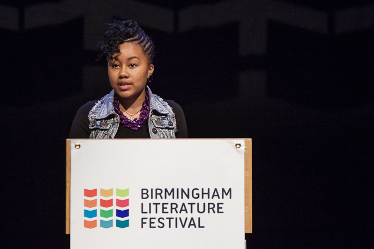 Lauren William 9th Young Birmingham Poet Laureate