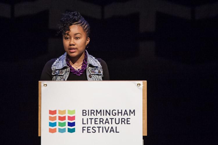 Lauren William 9th Young Birmingham Poet Laureate