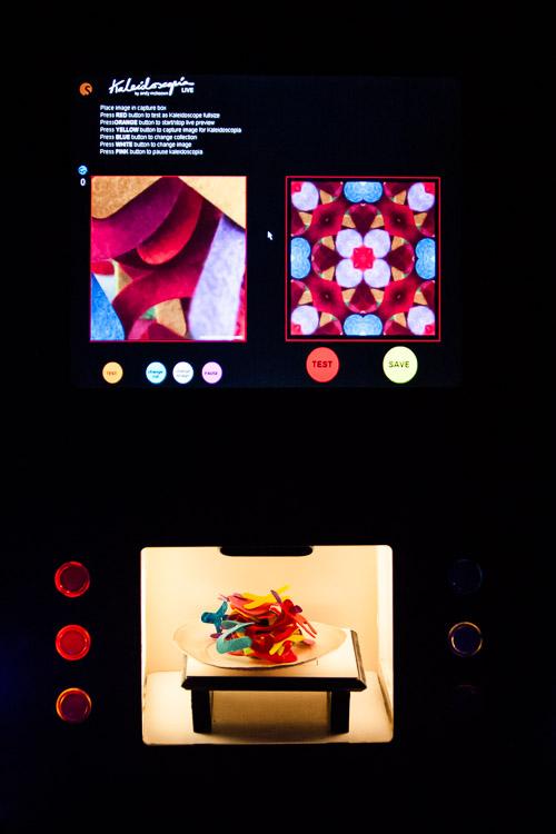 Illuminate - Kaleidoscope machine