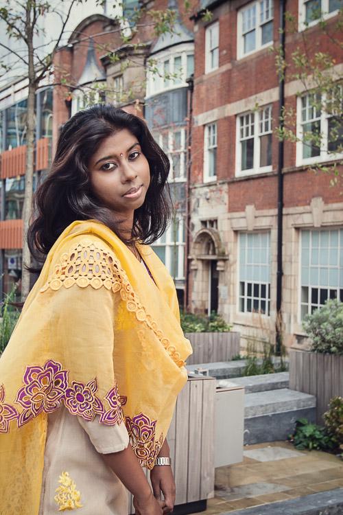 Birmingham portrait session - Monica