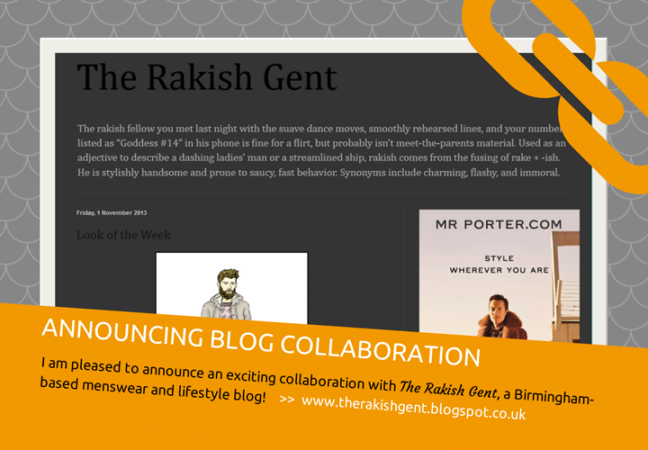 Announcing collaboration with the Rakish Gent