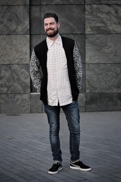 Birmingham Street Style Project contrast sleeves