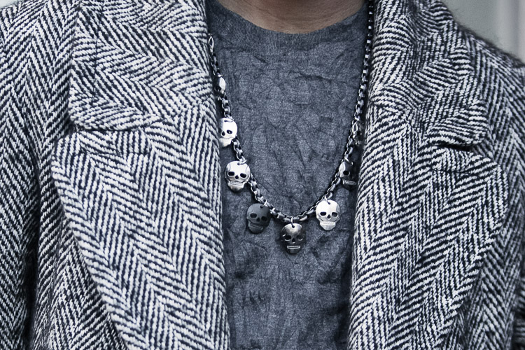 Birmingham Street Style Project skull men jewellery
