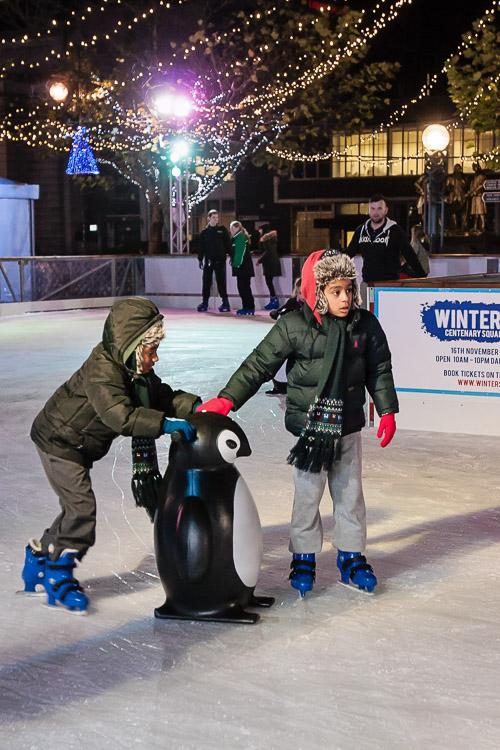 Birmingham Winter Skate 2013 ice rink