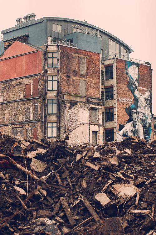 Glasgow 2014 Badminton by Guido Van Helten
