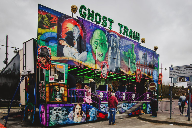 Ghost Train ride at Dumfries Fair