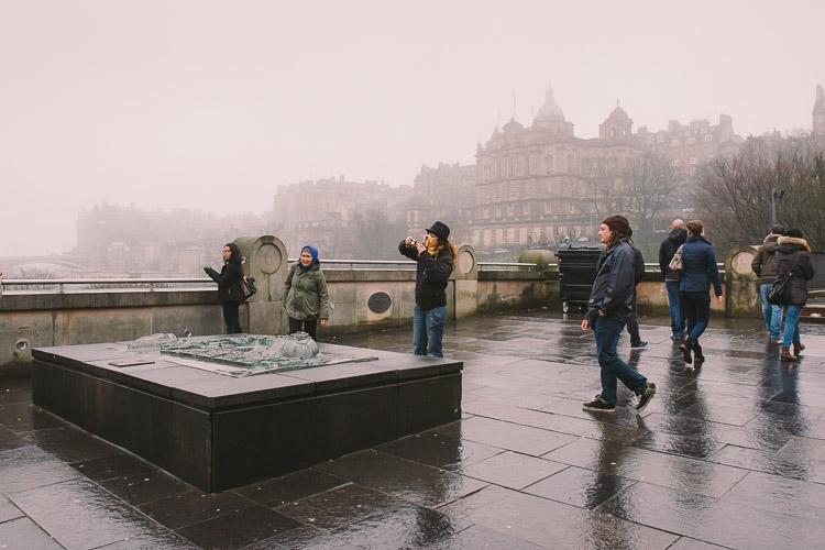 Tourists on the Mound
