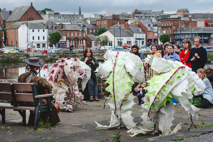 Sporopollen performed at Dumfries and Galloway Art Festival