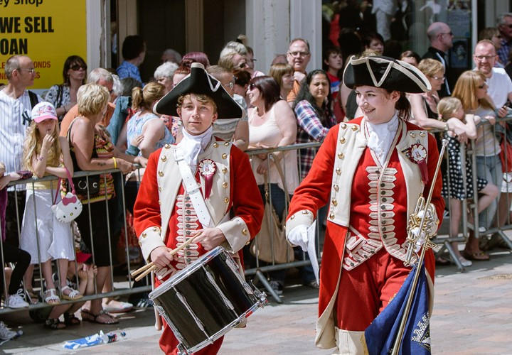 Guid Nychburris (Good Neighbours) Festival in Dumfries