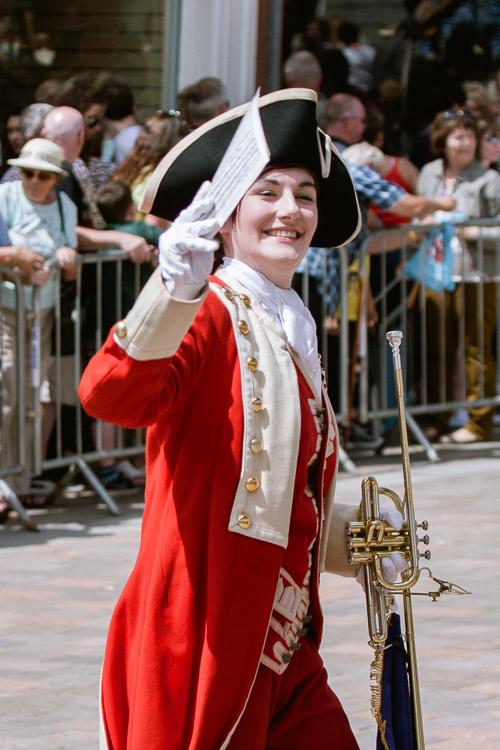 Cheery bugler