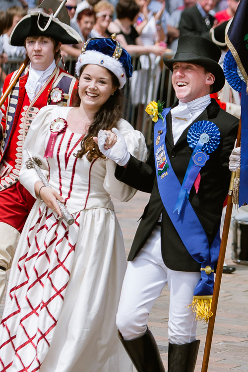 2014 Cornet and the crowned Queen of the South
