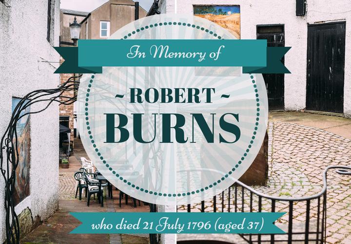 The Globe Inn, Dumfries - in memory of Robert Burns