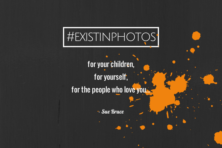 #existinphotos - a powerful message from Sue Bryce