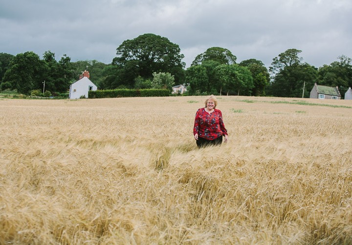 Moira | Location portrait session in Dumfries