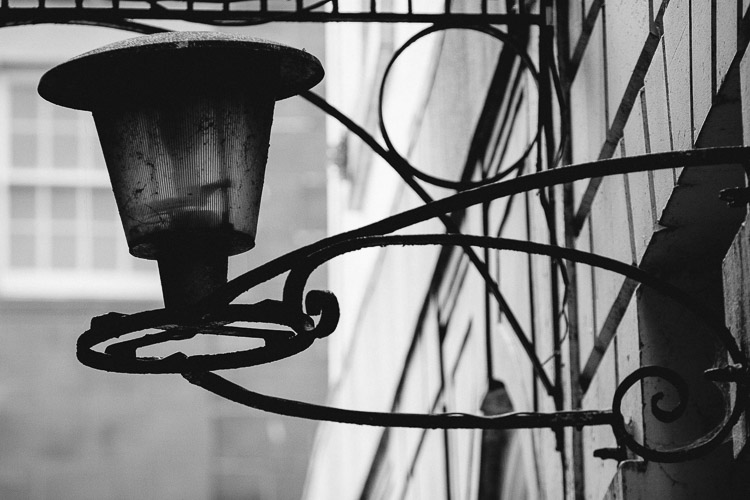 Dumfries old alley lamp