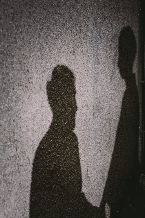 Shadow portrait projection