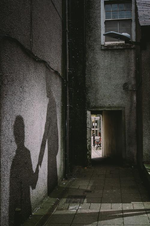 Shadow urban portrait