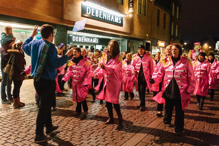 Dumfries Community Choir sings The Beatles' Let it be