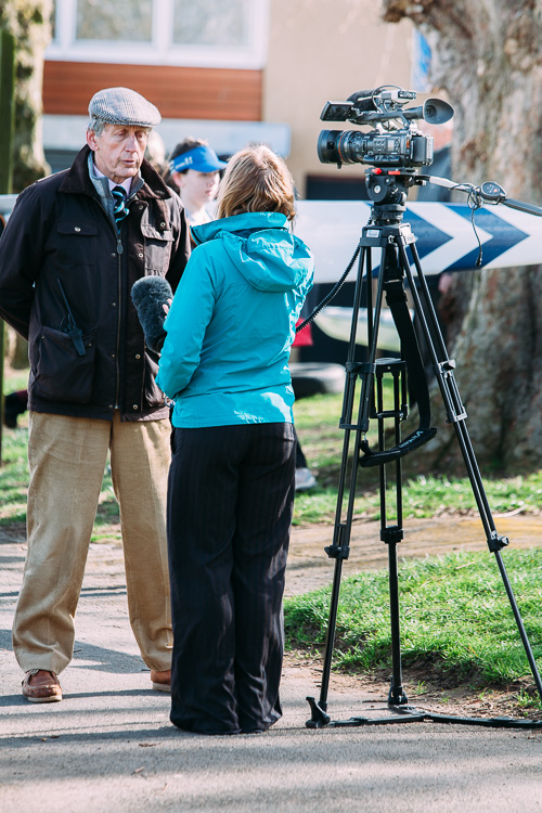 TV interview covering Nithsdale regatta 2015