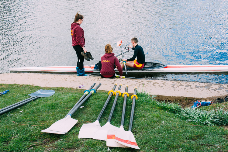 It was great to see so many young rowers taking part