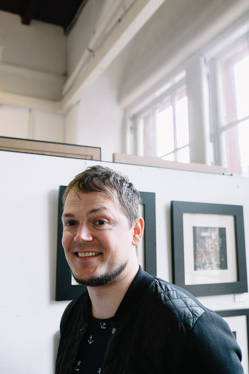 Steven Burnie, a Solway House artist