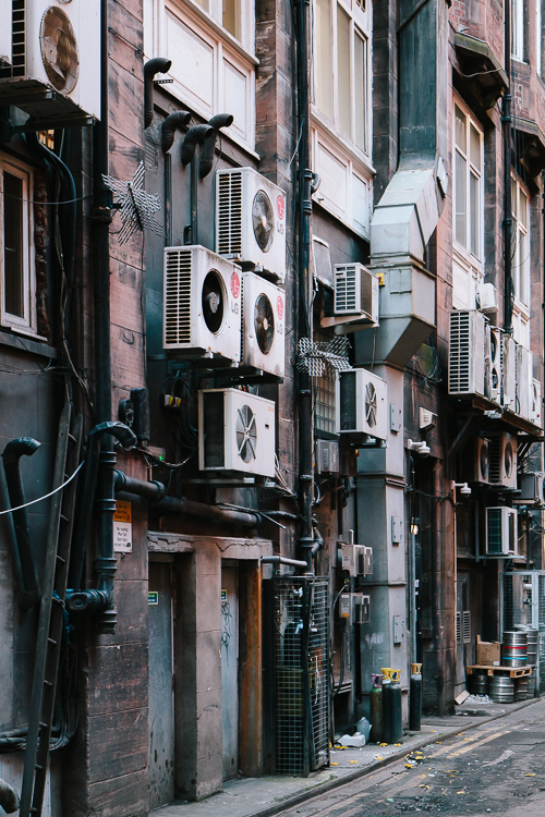 Urban Photography In Glasgow Back Alleys Galina Walls