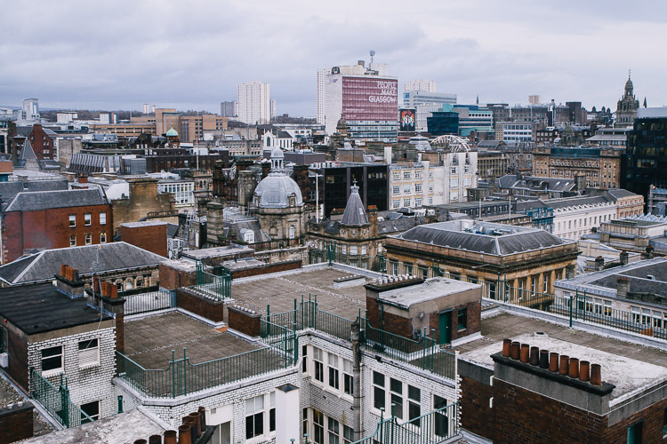 Glasgow cityscape & Glasgow cityscapes and rooftops - Galina Walls Photography memphite.com