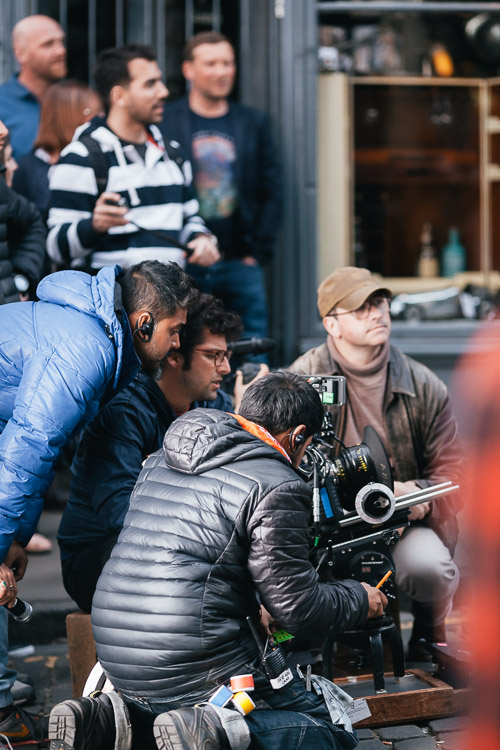 Cameramen at work