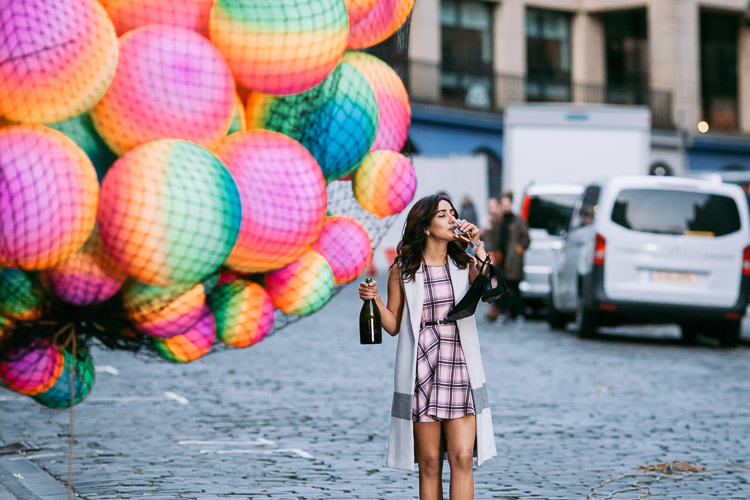 Neha Sharma filmed for Tum Bin 2 on the streets of Edinburgh