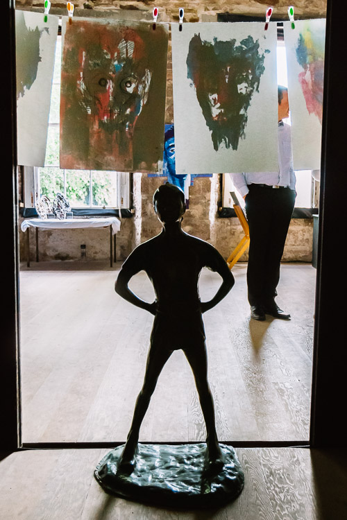 Peter Pan at the HND students art exhibition - Moat Brae House, Dumfries