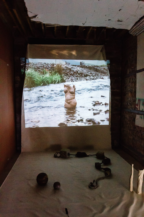 Projection and installation artwork by Jayne Creighton