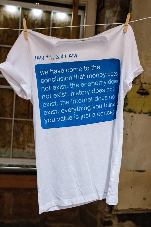 Hayley Watson's concept t-shirt