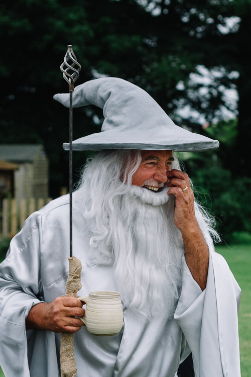 Mark as Gandalf the Grey