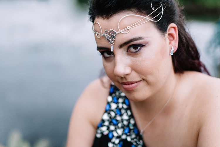 I love the diadem - it's very Lord of the Rings!