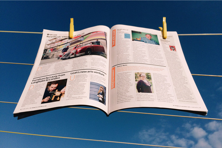 Featured in Brief Encounter in D&G Life Magazine