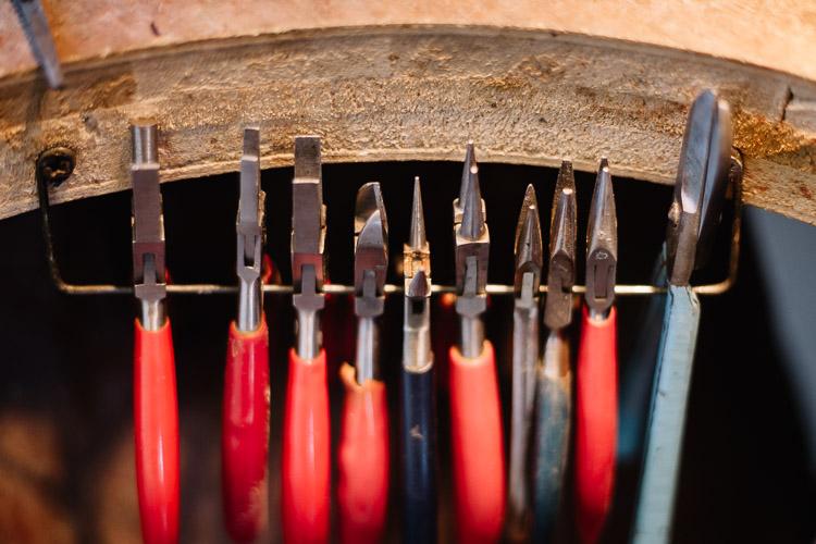 Tools for handmade jewellery making