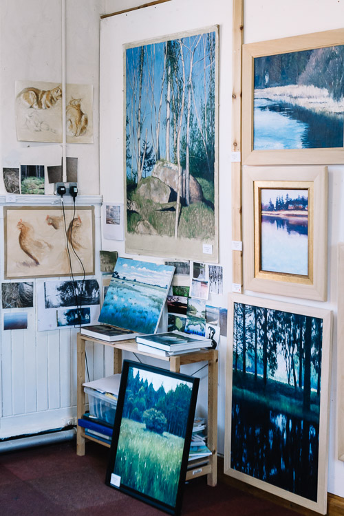 Drawings and paintings  on display to give insight into William Spurway's creative process