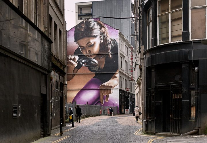 My Glasgow street photo published in the Telegraph