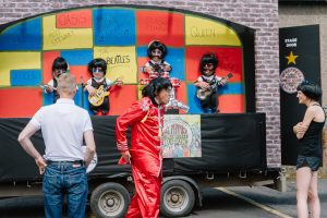 Beatles float at Guid Nychburris Parade 2017