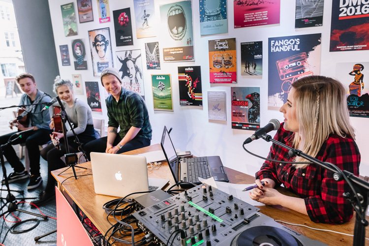 Radio DMC | Dumfries Music Conference 2016