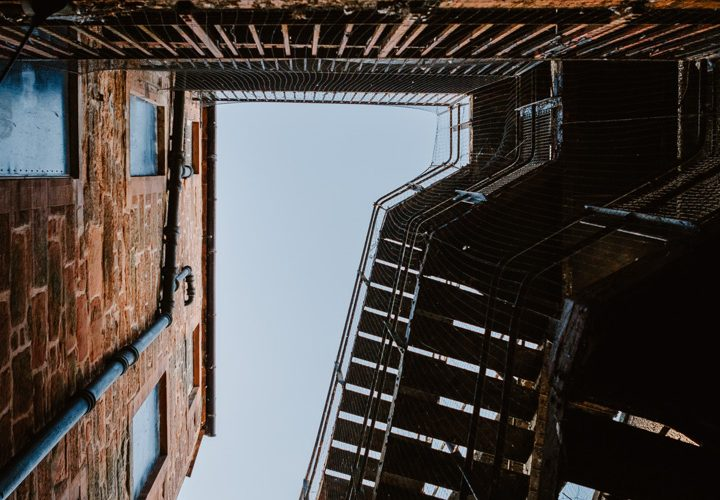 Dumfries urban location recce