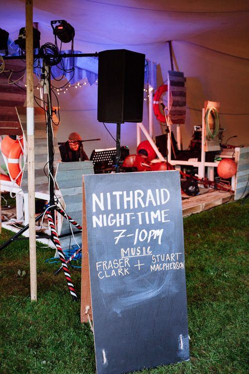 Live music at Nithraid 2017