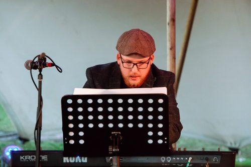 Fraser Clark playing