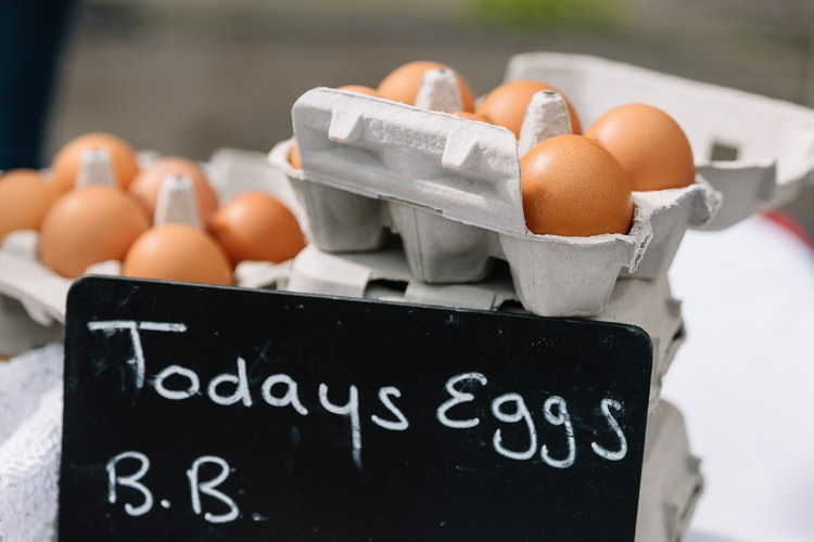 The freshest eggs from Upper Senwick Farm